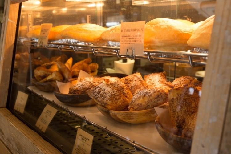 THE DECK COFFEE & PIE bread