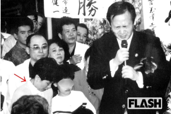 1987菅義偉 真理子夫人
