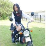 堀田真由はバイク好き?二輪免許取得のきっかけはホンダCMバイクが、好きだ