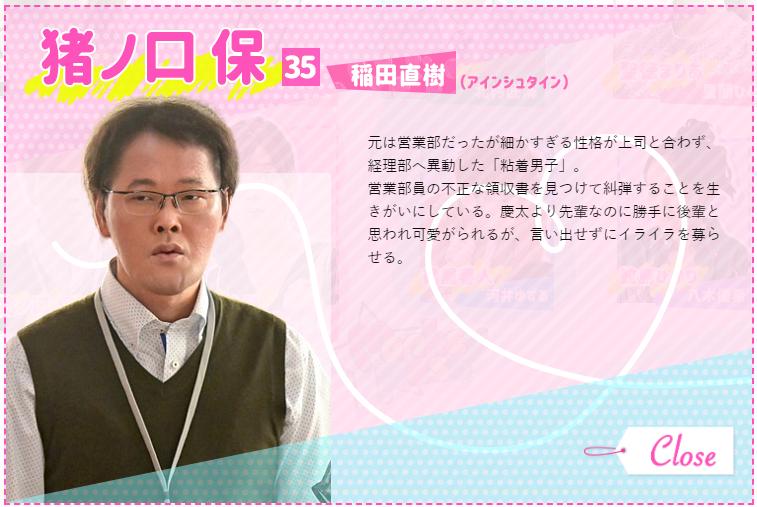 カネ恋 猪ノ口保 稲田直樹