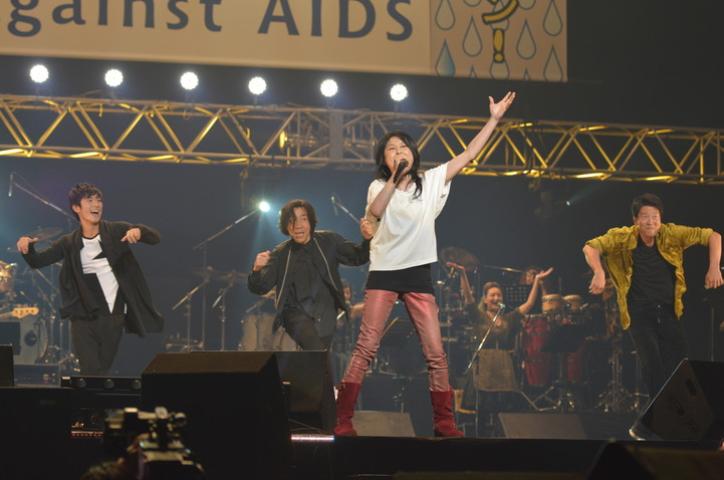 Act Against AIDS/AAA2016 三浦春馬 岸谷五朗 寺脇康文 岸谷香