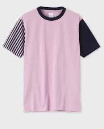 ミックスアップストライプシャツ