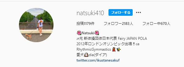 深瀬菜月 Instagram アカウント