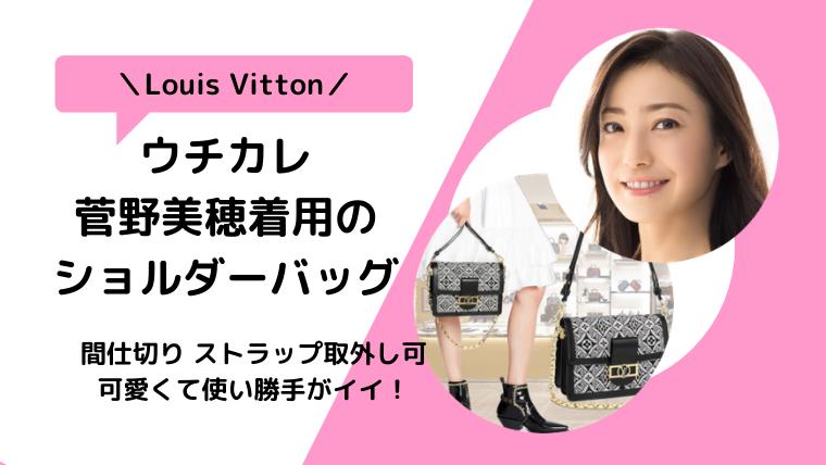 【ウチカレ】菅野美穂着用バッグのブランドは何?LOUIS VUITTON