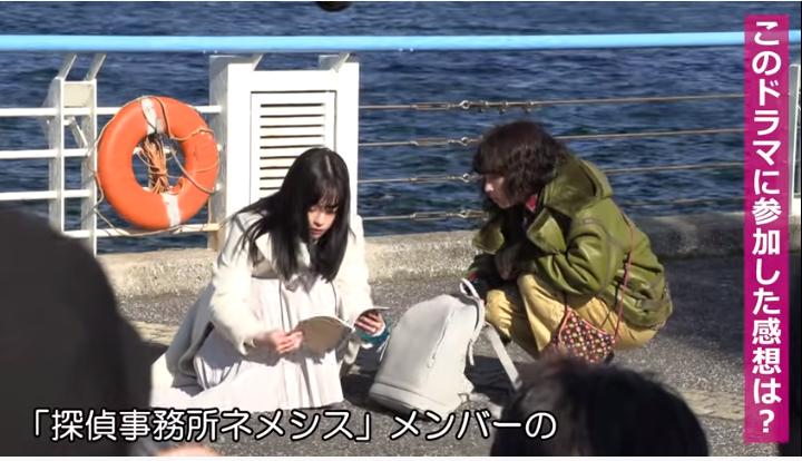 【ネメシス/橋本環奈衣装】バッグ/リュックはフォルコリForcoliブランド